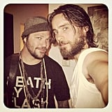 Jared Leto met up with his old friend Bam Margera. Source: Instagram user jaredleto