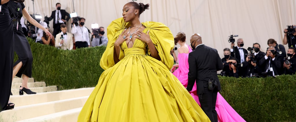Normani's Bright Yellow Valentino Gown at the 2021 Met Gala