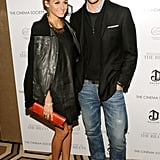 Olivia Palermo's Leather Dress