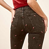 Reformation Julia High Cigarette Jeans