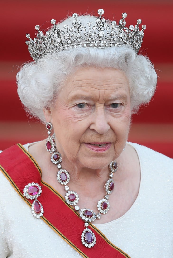 The Crown Rubies | Queen Elizabeth II's Necklaces ...