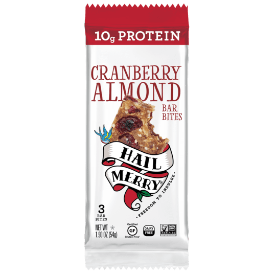Hail Merry Cranberry Almond Bar Bites