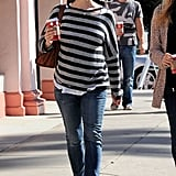 Jennifer Garner went out in LA.
