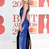 Hailey Baldwin's Ralph Lauren Dress Brit Awards 2018