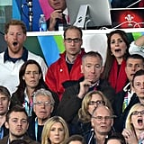 When Harry and Kate Couldn't Hide Their Shock in the Stands