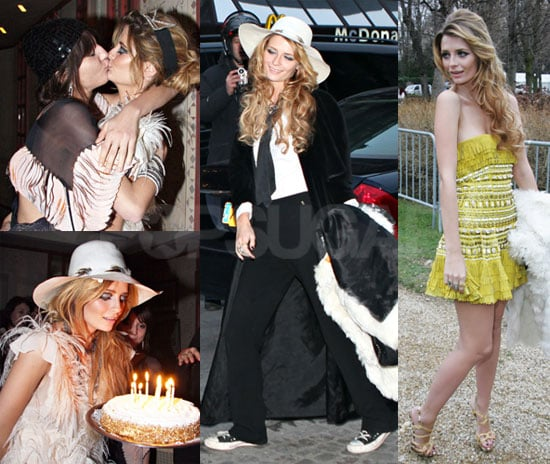 Mischa Celebrates Her Birthday With Couture and Kisses