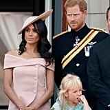 Meghan's Carolina Herrera Dress at Trooping the Colour