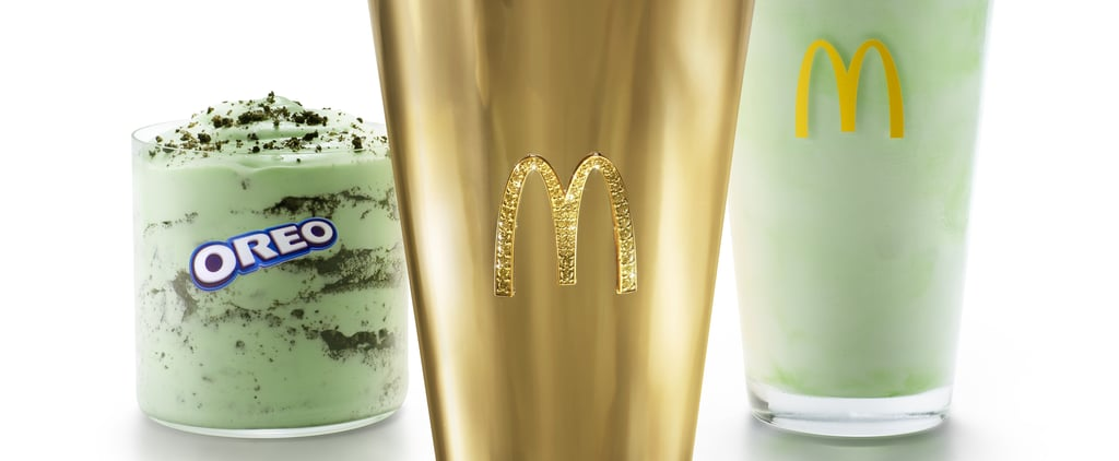 McDonald's Is Auctioning an 18K Gold Shamrock Shake Cup