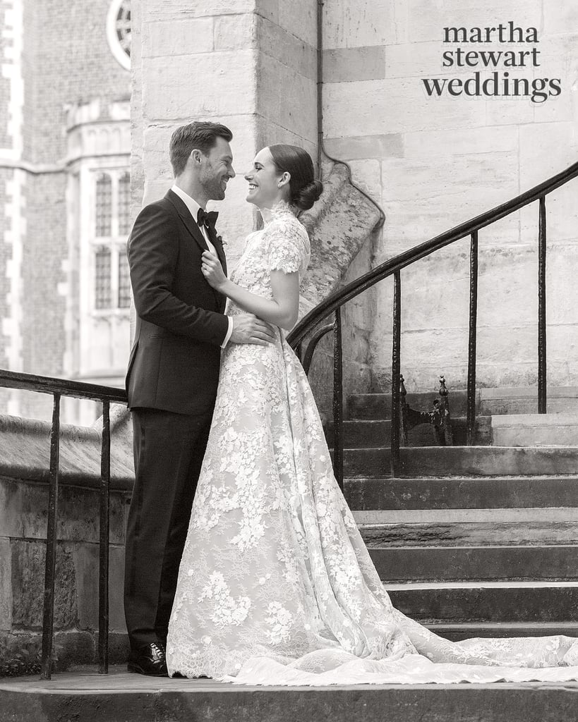 Louise Roe's Pronovias Wedding Gown