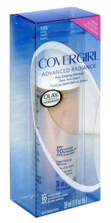 Reader Review of the Day: CoverGirl Advanced Radiance Age-Defying Makeup