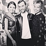 She's Good Friends With LV Designer Nicolas Ghesquière