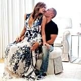 Stacy Keibler showed PDA with her husband, Jared Pobre. Source: Instagram user stacykeibler