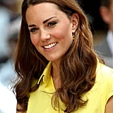 Kate Middleton wore a bright yellow dress in the Soloman Islands.