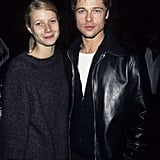He and his then-girlfriend Gwyneth Paltrow matched up for David Bowie concert in LA back in October 1995.