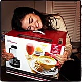 Lucy Hale was happy with her VitaMix blender Christmas present. Source: Instagram user lucyhale89