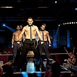Joe Manganiello, Channing Tatum, and Matt Bomer in Magic Mike.