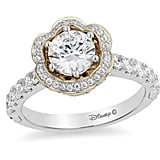 Enchanted Disney Belle Diamond Frame Engagement Ring