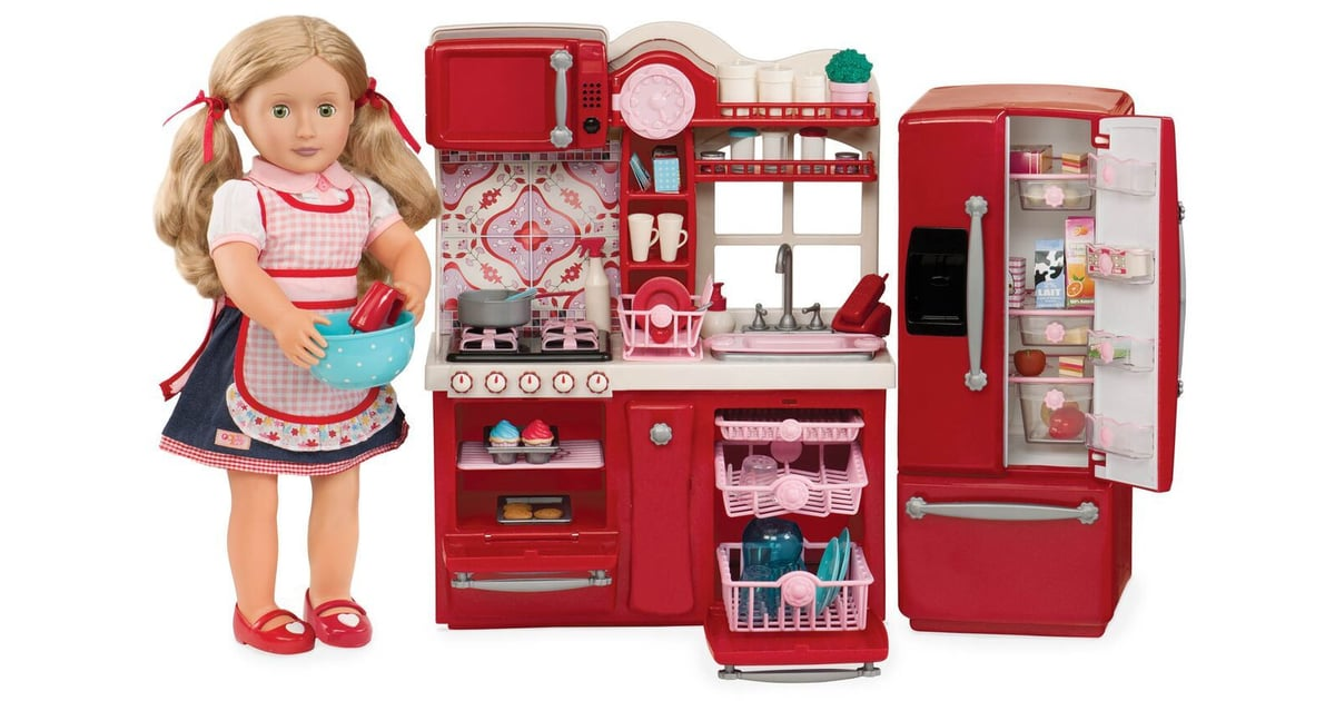 Gourmet kitchen set american girl doll gift ideas for E kitchen american cambodia