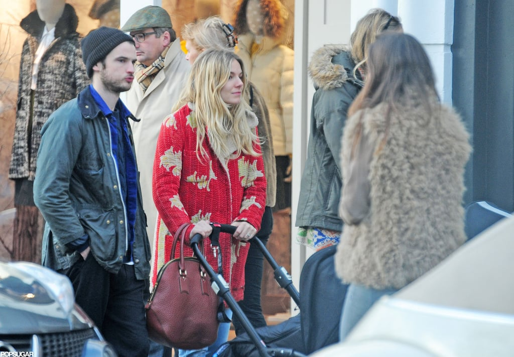 Sienna Miller and Tom Sturridge shopped in London.