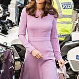 Kate Middleton's Lavender Emilia Wickstead Dress