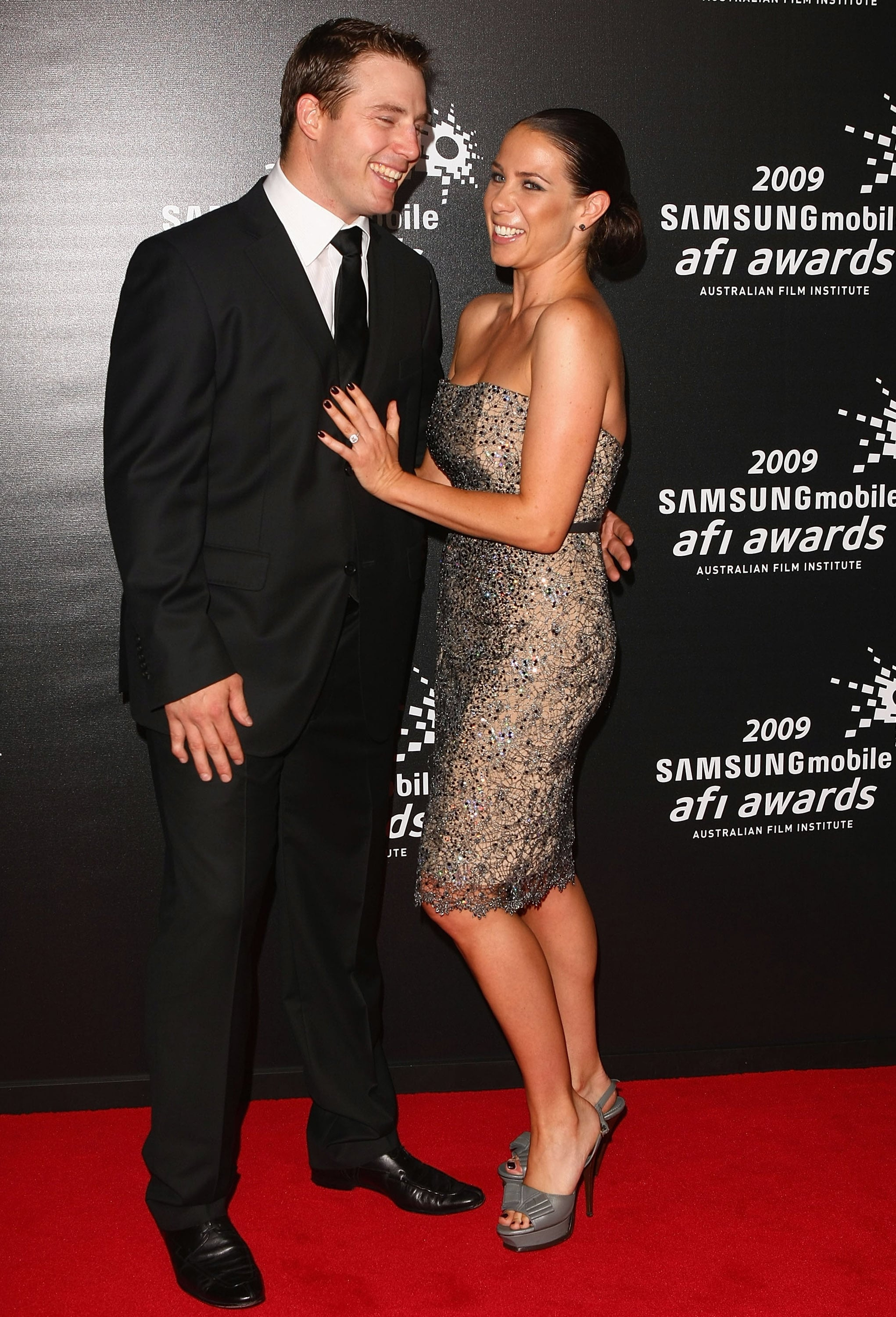 Kate Ritchie and Stuart Webb