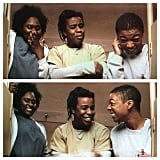 Brooks, Uzo Aduba, and Wiley grinned through this 'gram.