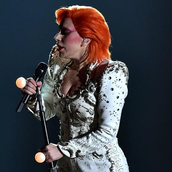 Lady Gaga at the Grammy Awards 2016