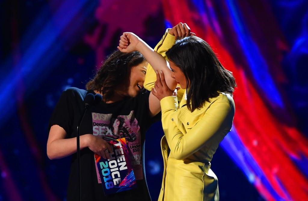 Rachel Bloom and Nina Dobrev