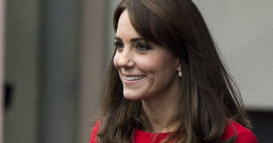 The Duchess Of Cambridge Really Loves This Red McQueen Suit