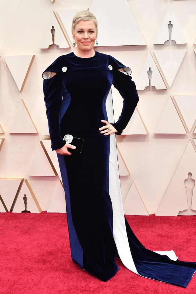 Olivia Colman at the Oscars 2020