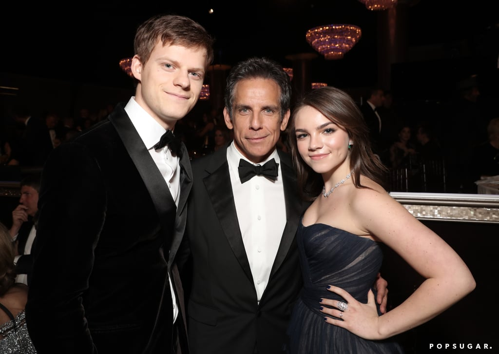 Pictured: Lucas Hedges, Ben Stiller, and Ella Olivia Stiller