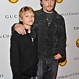 Norman Reedus and His Son Pictures