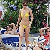Jamie Dornan and Dakota Johnson on Beach in France Pictures