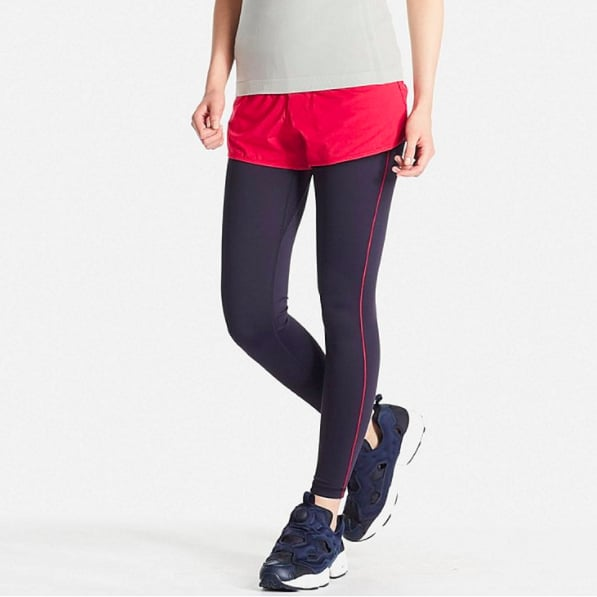 Airism Leggings Heads Up Uniqlo Is A Surprising Source Of Affordable Fitness Wear Popsugar Fitness Photo 5