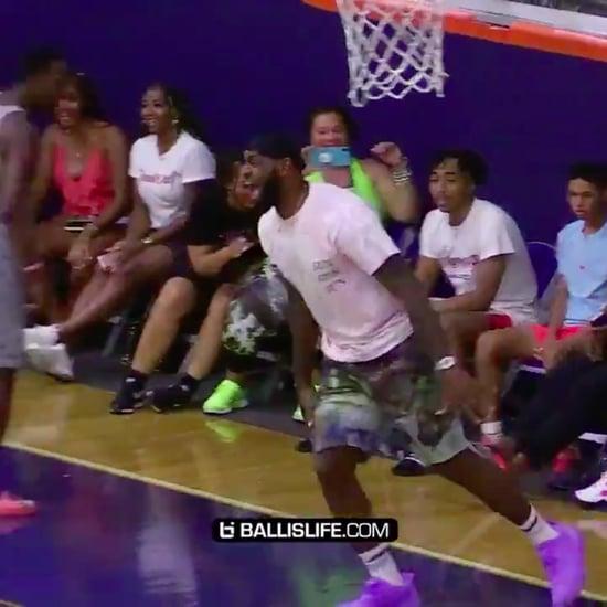 LeBron James Criticized For Celebrating Son's Game