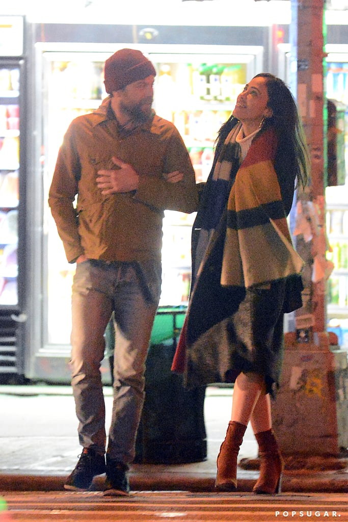 Joshua Jackson Kissing a Woman in NYC March 2017