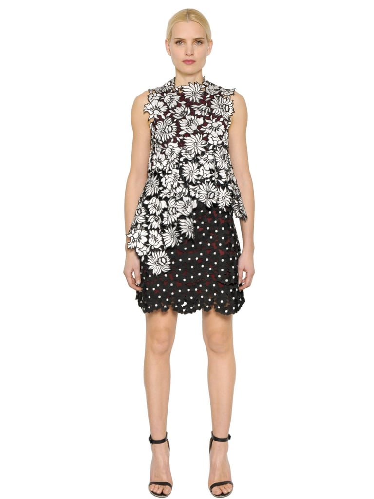 Self-Portrait Millie Layered Lace Dress ($465)