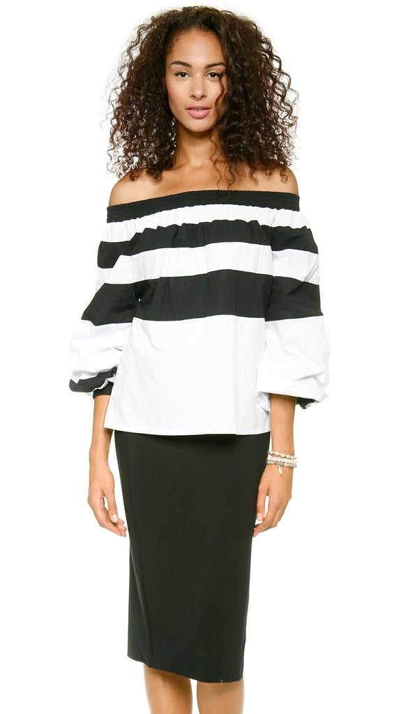 MLM LABEL Off-the-Shoulder Top