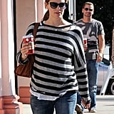 Jennifer Garner got a coffee.