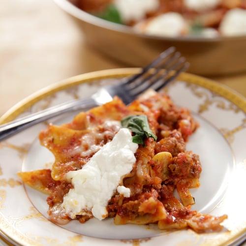 Cooking recipes lasagna easy