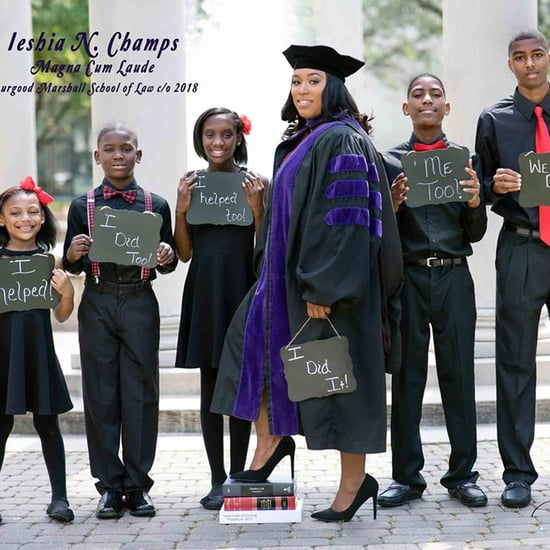 Single Mom Graduates Law School