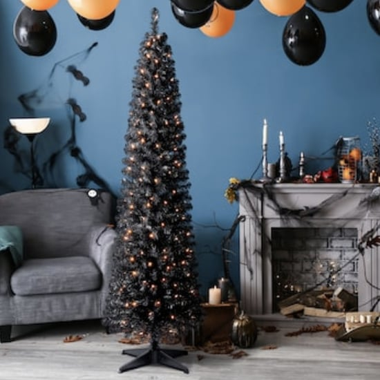 Michaels Is Selling a Pre-Lit Black Halloween Tree