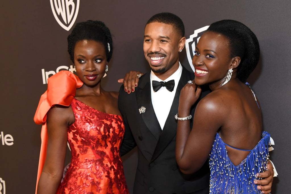 Black Panther Cast Golden Globes Lift Video 2019
