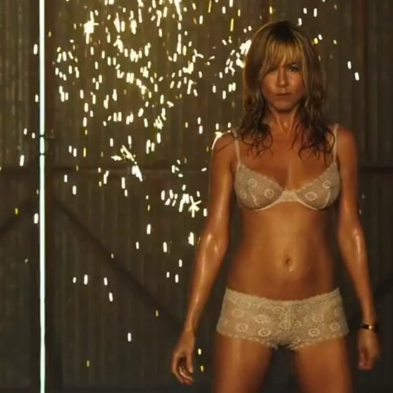 Jennifer Aniston Interview on MTV Best Shirtless Performance