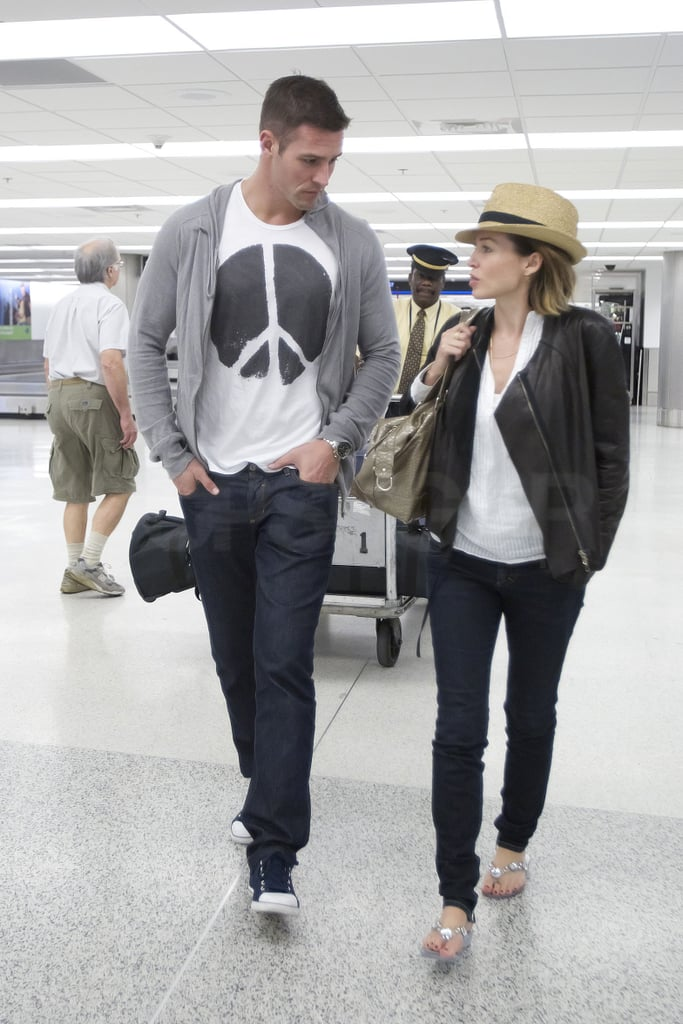 Pictures of Dannii Minogue and Kris Smith in Miami