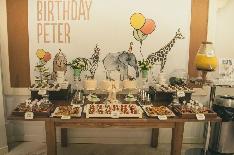 Party On Peter Animal First Birthday Party POPSUGAR Moms Photo 15