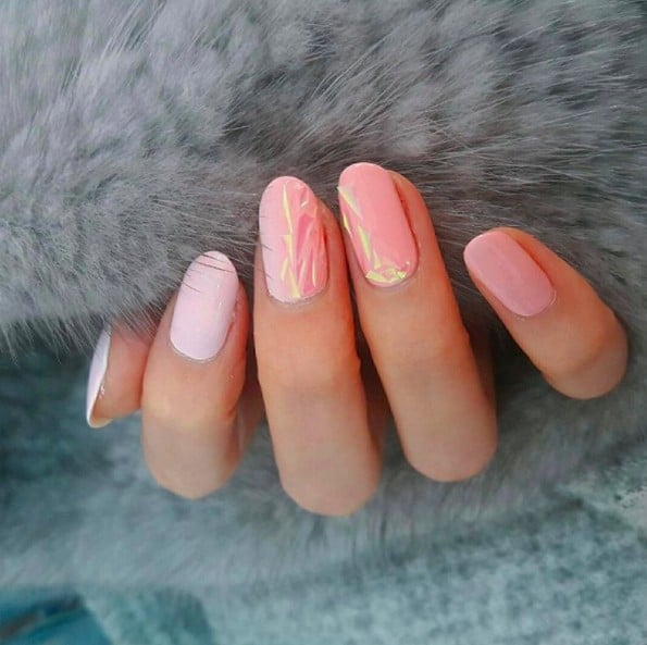 Glass nail art popsugar beauty glass nail art is still the latest korean beauty craze you need to try prinsesfo Image collections