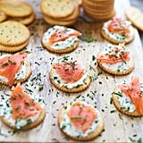 Smoked Salmon Ritz Bites