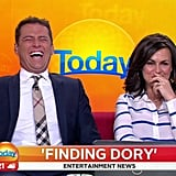 When he called out Richard Wilkins' sources.