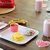 Valentine's Morning Meal Decor